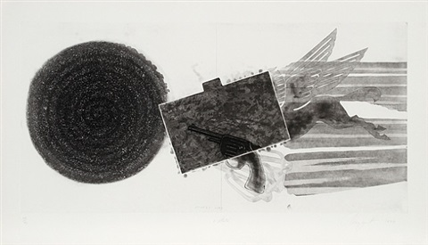 diver's line [2nd state] by james rosenquist